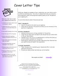 Cover Letter Resume Template Inspirational Sample For Examples