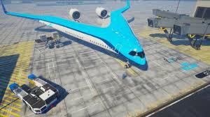 Most Fuel Efficient Light Aircraft Klms New Flying V Jet Will Take Test Flight In October
