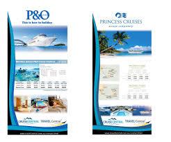 Elegant Playful Cruise Line Flyer Design For Travel Central By