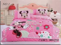 creative fresh minnie mouse bedroom set full size minnie mouse bedding sets kids print bedding set