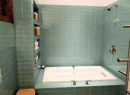 bathtub trim glass tile trim elegant contemporary full bathroom with drop in bathtub by subway intended bathtub trim