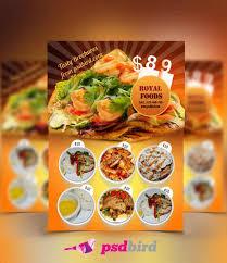 50 Free Restaurant Menu Templates Psd