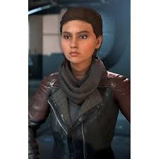 Jacket Mass Ryder - Leather Video Effect Andromeda Black Sara Game