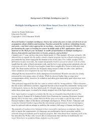 intelligence essay introduction psychology essays emotional