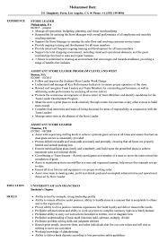 Gamestop Resume Template Best of Store Leader Resume Samples Velvet Jobs