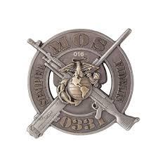 Usmc 0331 Usmc 0331 Machine Gunner Coin Usmc Us Marines Marines