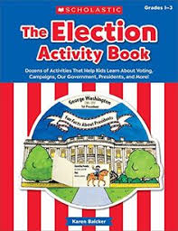 the the election activity book 2018 dozens of activiti s