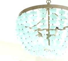 sea glass chandelier. Sea Glass Chandelier Lighting Bead E