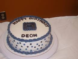 Simple Birthday Cake For A Male Cakecentralcom