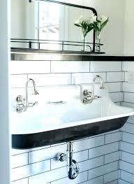kohler trough sinks bathroom sink double vanity ideas farmhouse kids bathrooms brockway uk