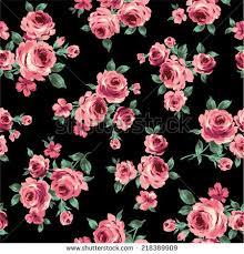 Rose Pattern Fascinating Pattern Rose Stock Vector Royalty Free 48 Shutterstock