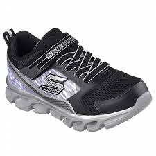 sketchers boys shoes. skechers boys\u0027 s lights hypno flash light-up silver athletic shoe sketchers boys shoes