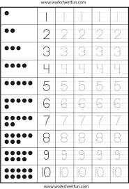 Free Number Tracing Worksheets 1-10. Number. Stevessundrybooksmags ...