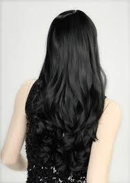 بنات شعر اسود طويل صبغة الشعر الاسود بالصور