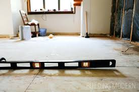 how to level a floor kitchen renovation level concrete floor before tiling