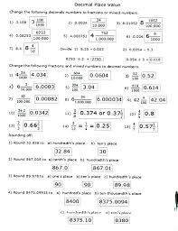 free place value worksheets – streamclean.info