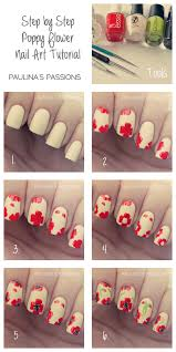 Flower nail art tutorial - how you can do it at home. Pictures ...