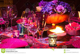 Setting A Dinner Table Table Setting For Dinner Royalty Free Stock Photos Image 16118108