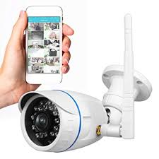 Wireless Outdoor IP Security Camera - Weatherproof HD 720p Home WiFi Surveillance Internet Video w/ Amazon.com :
