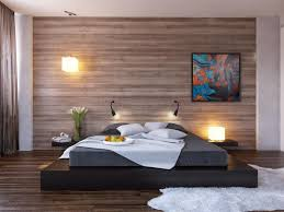 Small Bedroom Armchair Minimalist Bedroom Design For Small Rooms Exposed Brick Wall