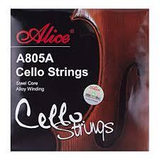 Alice Steel Core Nickel Chromium Winding Cello ... - Amazon.com