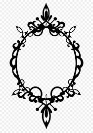 picture frame filigree ornament clip art victorian frame cliparts