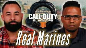 Real Marines Try To Survive Blackout In Call of Duty: Black Ops 4 ...