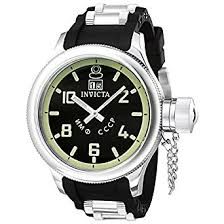 amazon com invicta men s 4342 russian diver collection black invicta men s 4342 russian diver collection black sport watch