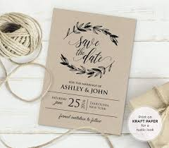 best 25 diy wedding invitations templates ideas only on pinterest Formal Rustic Wedding Invitations free rustic vintage wedding invitation templates Country Wedding Invitations