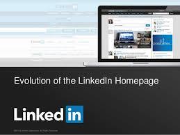 Evolution Of The Linkedin Homepage
