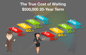 Term Life Insurance Rate Chart By Age Effortless Insurance