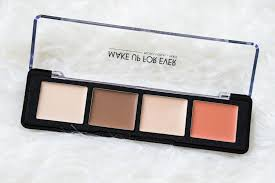 the beauty vanity make up for ever pro sculpting face palette 20 review swatches cream contour kit