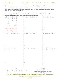 algebra 1 multi step equations worksheets worksheets for all and share worksheets free on bonlacfoods com