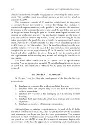 4 The Assessment Program Assessing Accomplished Teaching