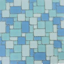 splashback tile ocean wave french pattern beached frosted glass mosaic wall tile 3 in