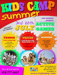 Create Summer Camp Posters Online Postermywall