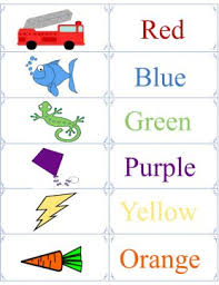 Learn colors and color names dwith these beautiful, free printable color flashcards. Printable Color Flashcards