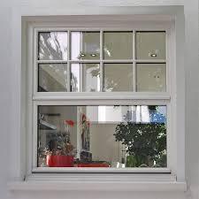 Sprossenfenster Klassisches Holz Schiebefenster In Weiß Mit