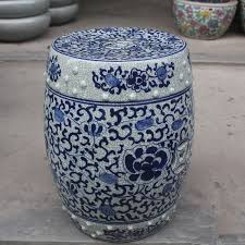 Porcelain Jindezhen Chinese ceramic drum stool bathroom dressing blue  ceramic garden stool-in Stools & Ottomans from Furniture on Aliexpress.com  | Alibaba ...