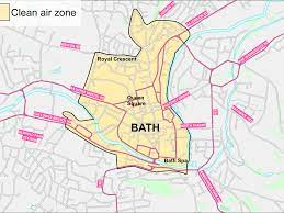 New look at Bath clean air zone plan to cost public £9,000 - Somerset Live