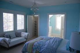 custom blue interior painting