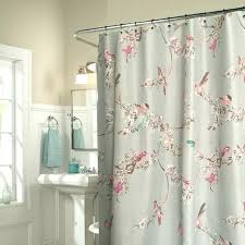 shabby chic blue fl bird luxury shower curtains luxury shower curtains bathroom luxury extra long shower