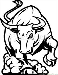 Small Picture Bull Coloring Pages GetColoringPagescom