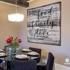 premium canvas dining room wall decor