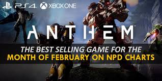 Npd Charts Anthem The Best Selling Game For The Month Of February On