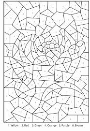 The pleasant effect of a bright colour or of a lot of…. Color By Number Printable Coloring Books Printable Coloring Pages