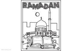 Muslim Ramadan Coloring Pages Free Printable Coloring Pages