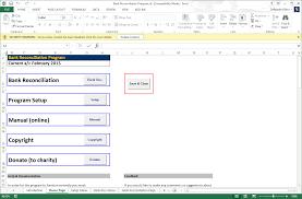 Bank Reconciliation Formula Statement Excel Pdf Spreadsheet Template