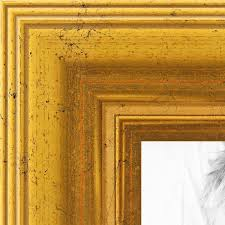 arttoframes 4x7 inch gold foil with steps wood picture frame 2womb 847 2186 4x7 souq uae