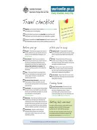 2018 Travel Checklist Template - Fillable, Printable Pdf & Forms ...